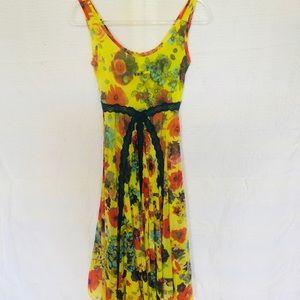 a2b890617bc Jean Paul Gaultier Dresses - Jean Paul Gaultier Vintage yellow green dress